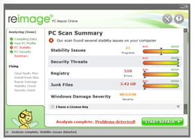 reimage pc repair online malware