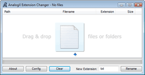 Download the latest version of Extension Changer free in English on
