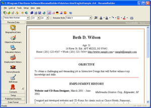 key features - Resume Maker Software Download
