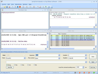 Download the latest version of Eltima Serial Port Monitor