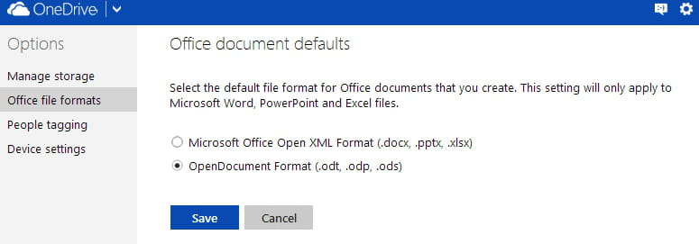 documents format