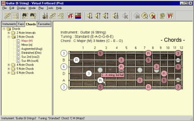 Download the latest version of A Virtual Fretboard free in English