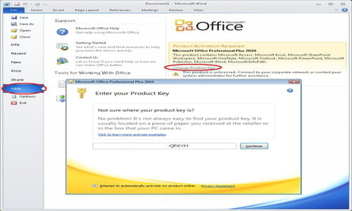 Download the latest version of Microsoft Office 2010 free in