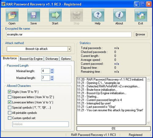 winrar password recovery software free download full version