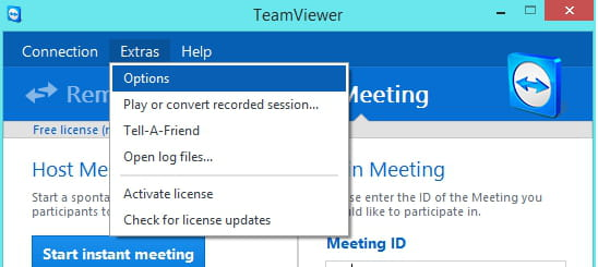 TeamViewer - Enable remote control on a LAN