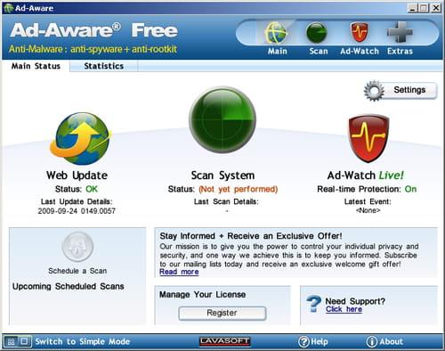 Download ad-aware 9. 0. 0. 0 filehippo. Com.