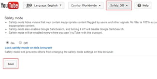 How To Enable YouTube Safety Mode