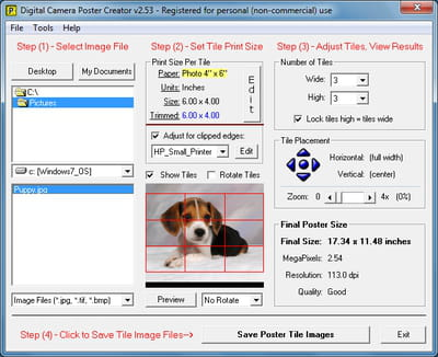 download the latest version of digital camera poster creator free in