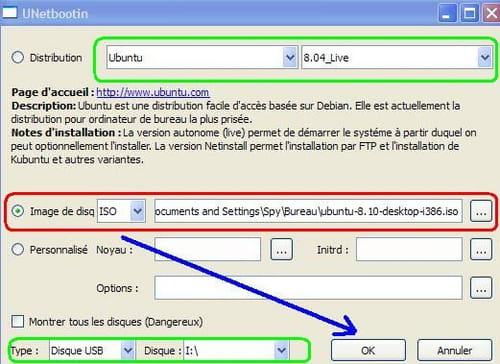 Download the latest version of UNetbootin free in English on CCM