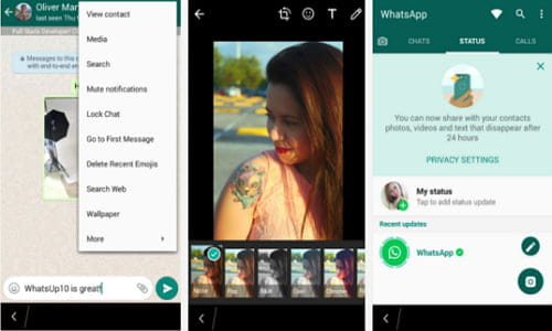 Download the latest version of WhatsApp Messenger for