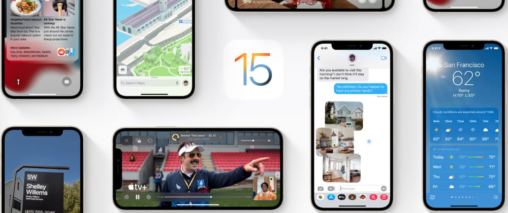 Everything about Apple iOS 15! 📱