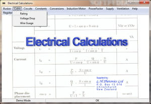 Download the latest version of electrical calculations free in electrical calculations is a professional software to calculate electrical units it allows making a forecast of the density of voltage and the amperages greentooth Image collections