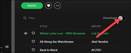 listen to spotify offline from computer
