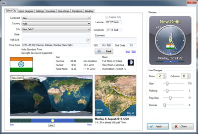 Download the latest version of Sharp World Clock free in