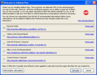 Download the latest version of AdBlock Plus free in English on CCM