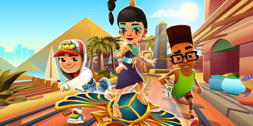 Download the latest version of Subway Surfers for PC free in