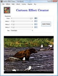 Photoshop cartoon effect download