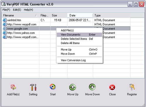 Html To Pdf Converter Is A Program Designed By Verypdf Inc It Allows Convert Pages Into Format And Supports Batch Processing