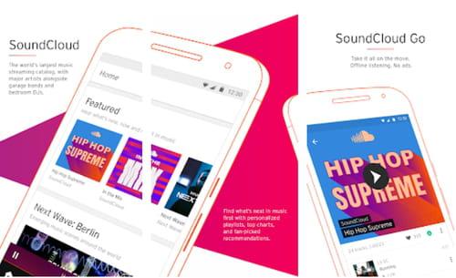 SoundCloud Music Audio listen songs albums DJ music producers
