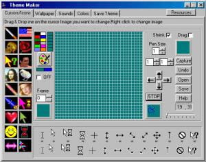 Download the latest version of Theme Maker free in English on CCM