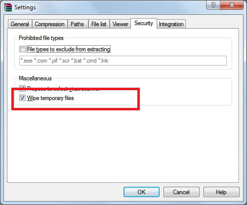 winrar extract and delete