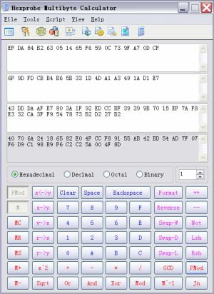 Download the latest version of Hpmbcalc Hex Calculator free in