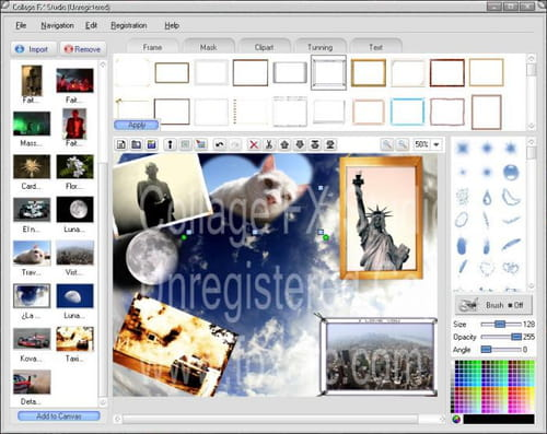 Download the latest version of Collage FX Studio free in