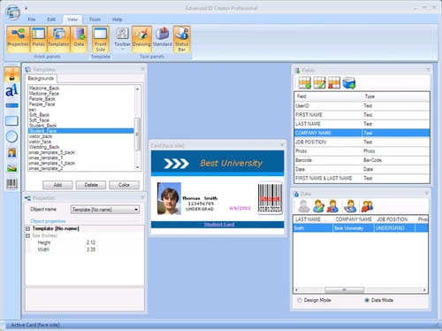 Download the latest version of Advanced ID Creator Professional free