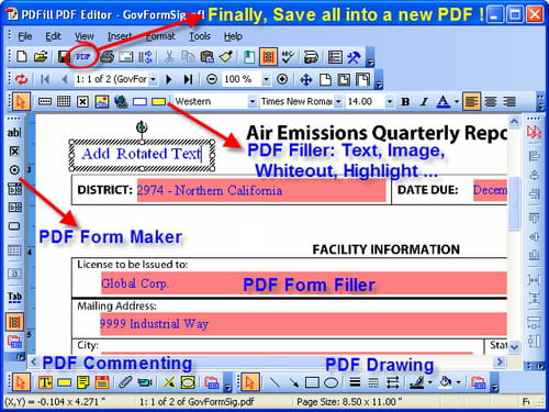 Download the latest version of PDFill PDF Editor free in English on CCM